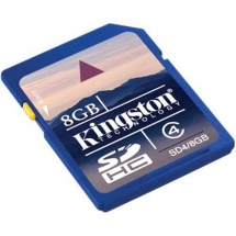Kingston HC 8GB, Class 6