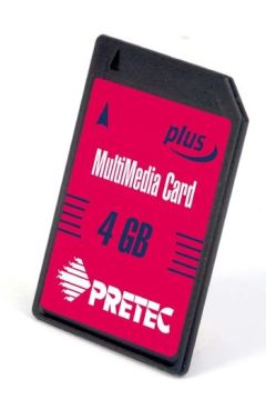 PRETEC 4.0GB karta MultiMedia 150x (MMC+)