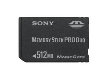 Sony Memory Stick Pro DUO MSX-M512S (512MB)