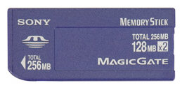 Sony Memory Stick MSH-128S2 (256MB)